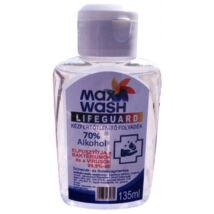 MaxWash Lifeguard Kézfertőtlenítő Folyadék 70% alkohol 135 ml
