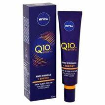 Nivea Q10 PlusC Ránctalanító és Energetizáló Éjszakai Arckrém 40 ml