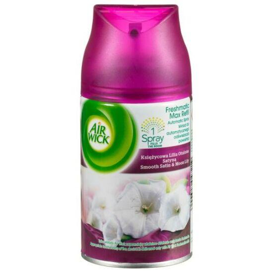 Air Wick Fresh Matic Illatosító Utántöltő Smooth Satin &  Moonlilly 250 ml