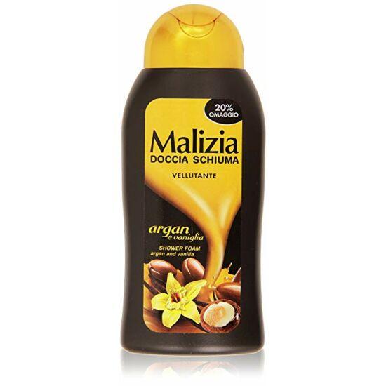 Malizia Tusfürdő Argán olaj & Vanília 300 ml
