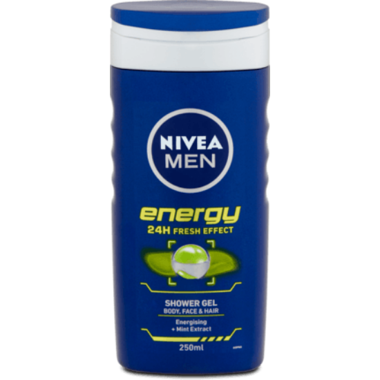 Nivea Men Energy 24 h Tusfürdő 250 ml