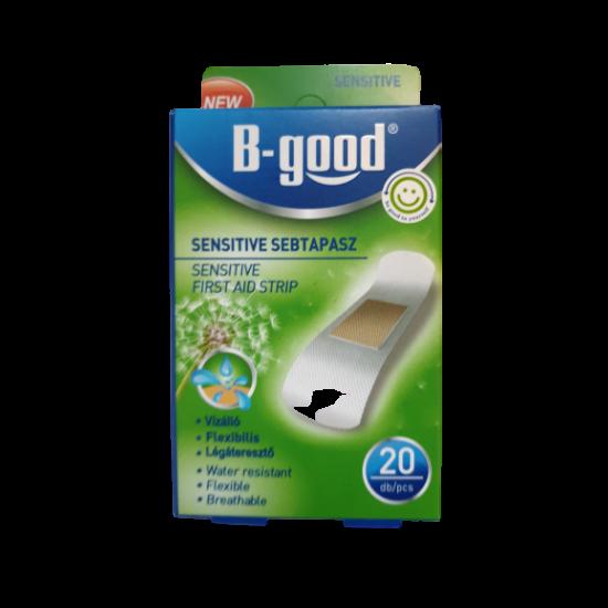 B-Good Vízálló Sensitive Sebtapasz 20 db