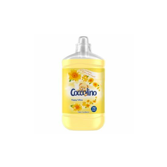 Coccolino Happy Yellow Öblítőkoncentrátum 1800 ml 72 mosás