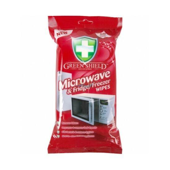 Green Shield Nedves Törlőkendő Mikrohullámú Sütő 70 db