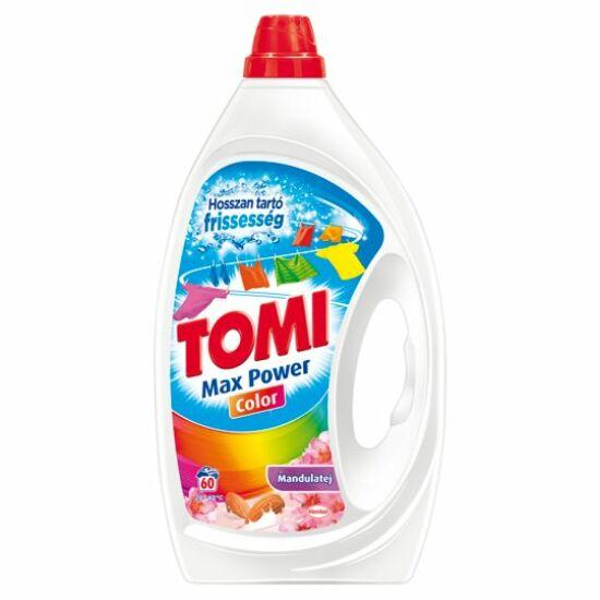 Tomi Max Power Color Mandulatej Folyékony Mosószer 60 mosás 3 l