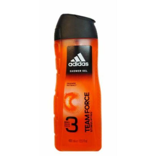 Adidas Team Force 3in1 Tusfürdő 400 ml