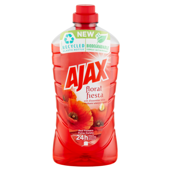 Ajax Floral Fiesta Red Flowers Általános Tisztítószer 1000 ml