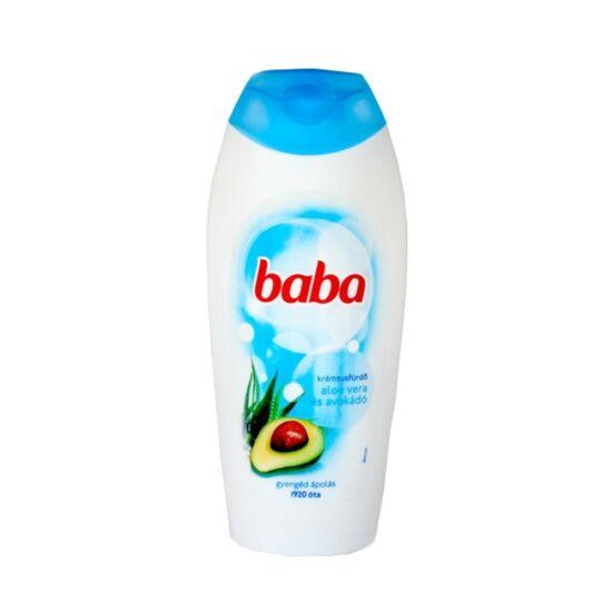 Baba Aloe Vera és Avokádó Tusfürdő 400 ml