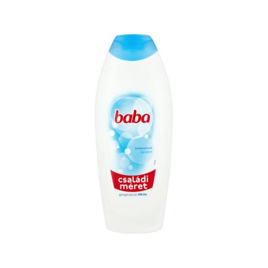 Baba Lanolin Tusfürdő 750 ml