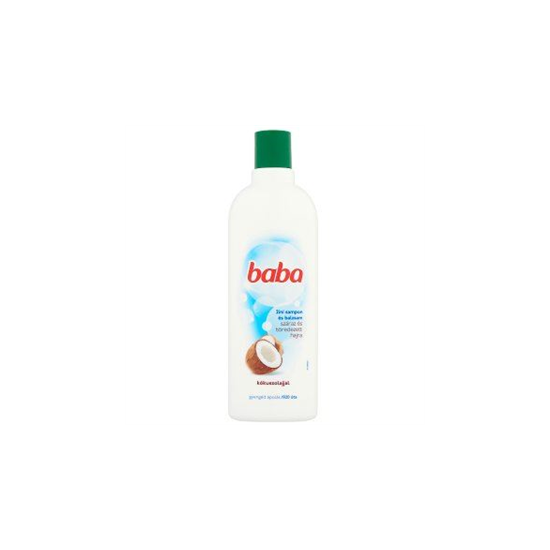 Baba 2in1 Sampon és Balzsam Kókuszolajjal 400 ml