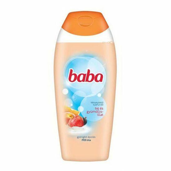 Baba Tej- és Gyümölcsillat Tusfürdő 750 ml