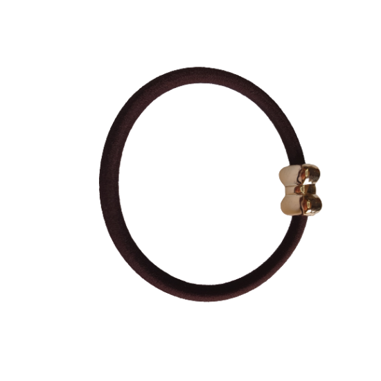 Díszes Barna Hajgumi (Masni)