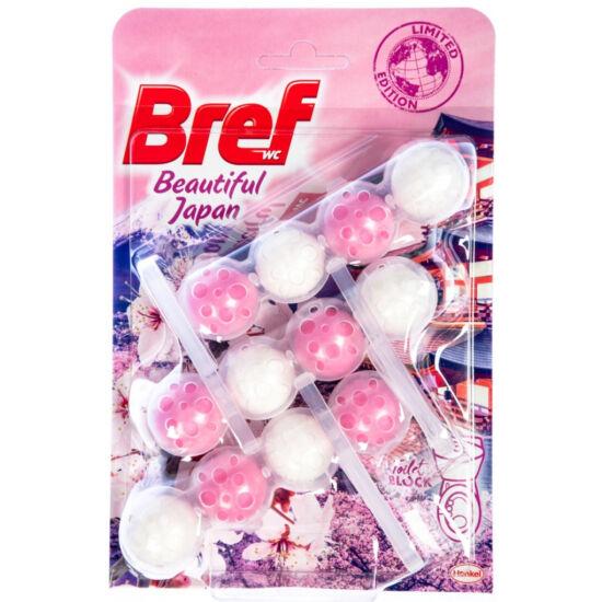Bref Beautiful Japan Wc tisztitó + illatosítő 3x50 g