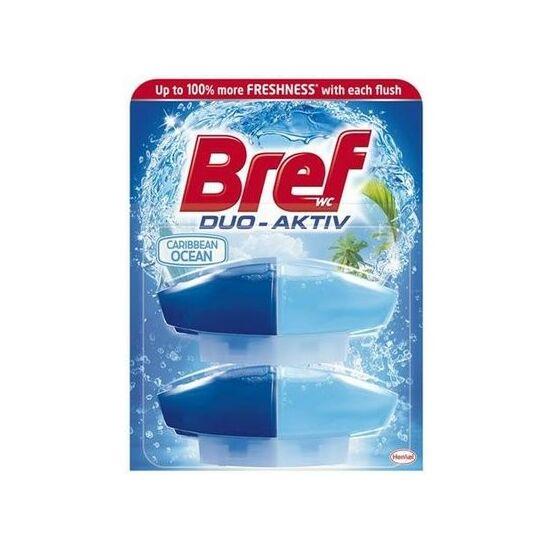 Bref Duo Aktiv Caribbean Ocean Wc Frissítő Utántöltő 2x50 ml