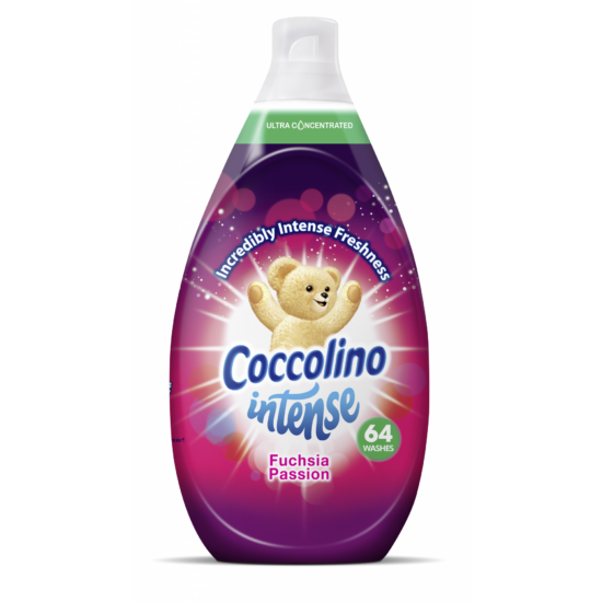 Coccolino Intense Fuchsia Passion Öblítő 64 mosás 960 ml
