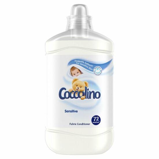Coccolino Sensitive Pure Öblítő 72 mosás 1800 ml