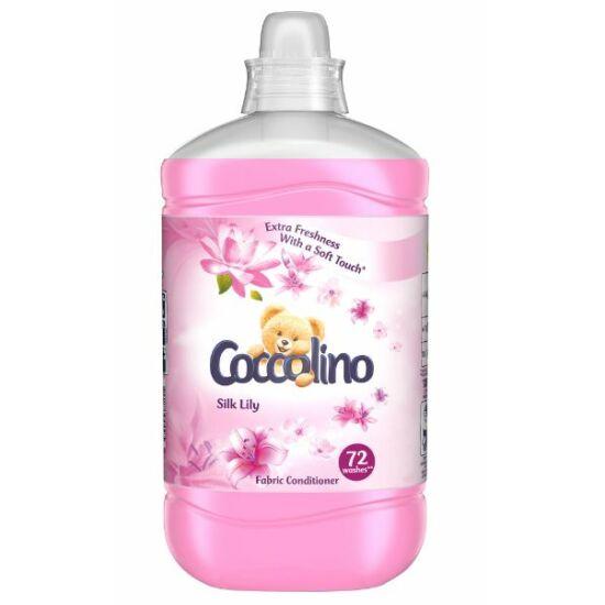Coccolino Silk Lily Öblítőkoncentrátum 1800 ml 72 mosás