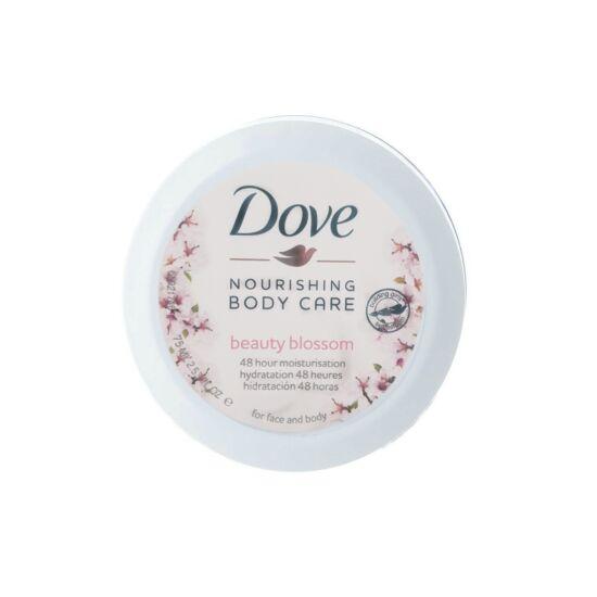 Dove Nourishing Body Care Beauty Blossom Testápoló Arcra és Testre 75 ml