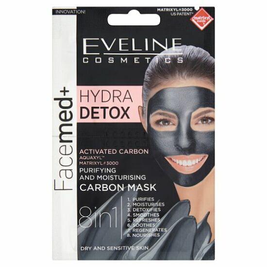 Eveline Cosmetics Facemed+ Hydra Deep Detox Arcmaszk 2x5 ml