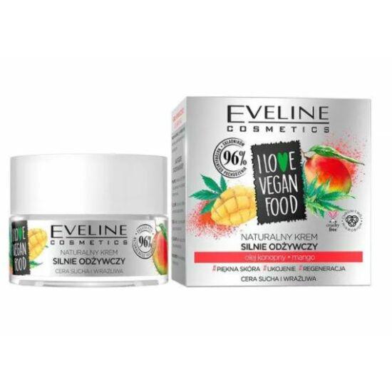 Eveline Cosmetics I Love Vegan Food Mangó Nappali és Éjszakai Arckrém 50 ml