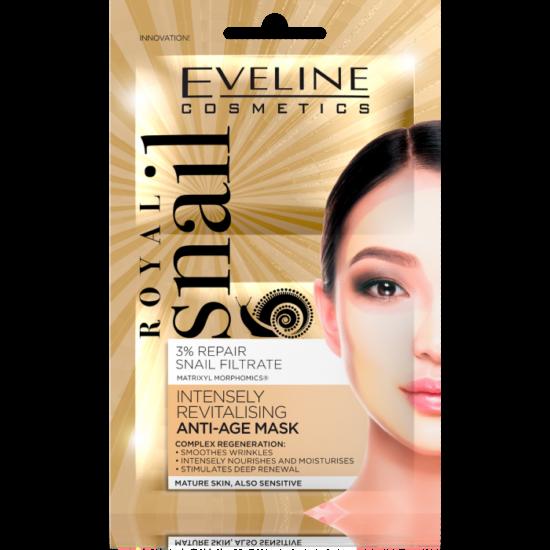 Eveline Cosmetics Royal Snail Anti- Age Arcmaszk 2x5 ml