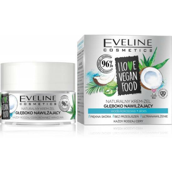 Eveline Cosmetics I Love Vegan Food Kókusz Nappali és Éjszakai Arckrém 50 ml