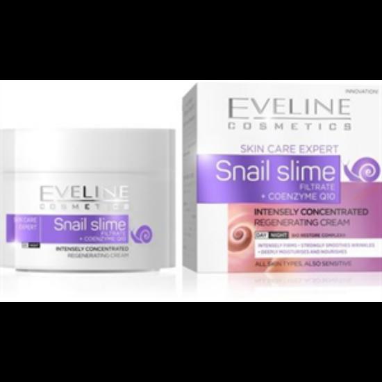 Eveline Cosmetics Skin Care Expert Snail Slime Nappali és Éjszakai Arckrém 50 ml
