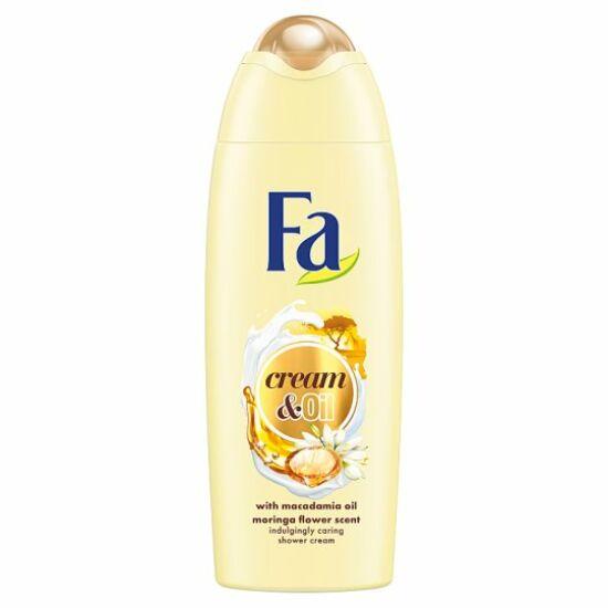 Fa Cream & Oil Macadamia Oil & Moringa Flower Tusfürdő 250 ml