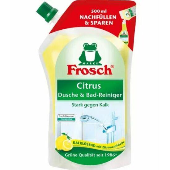 Frosch Citrom Fürdőszobai Tisztítószer Utántöltő 500 ml