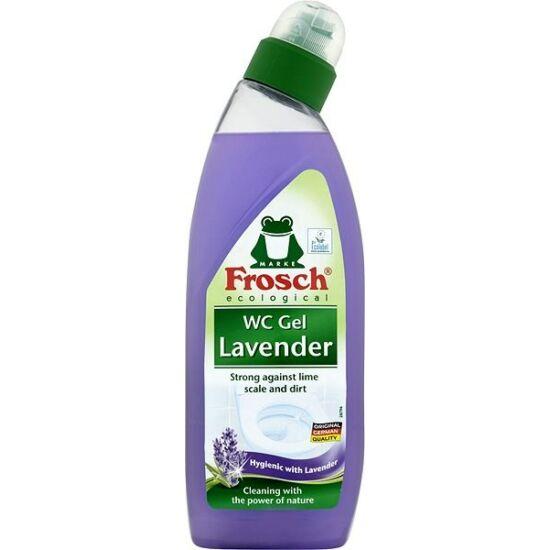 Frosch Wc Tisztító Gél Levendula 750 ml