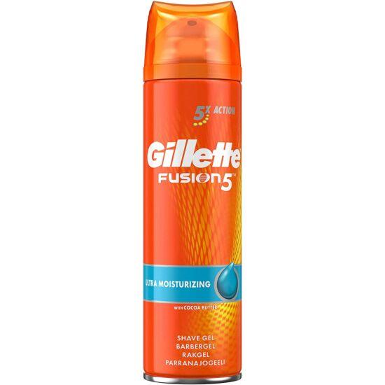 Gillette Fusion 5 Ultra Moisturizing Borotvagél 200 ml