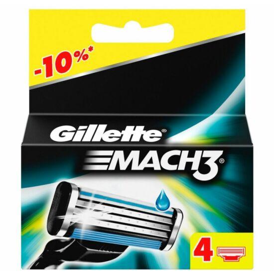Gillette Mach3 Betét 4 db-os