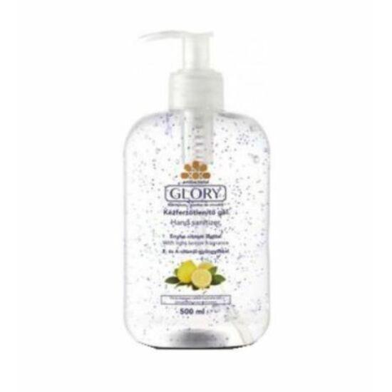 Glory Antibakteriális Kézfertőtlenítő Gél Enyhe Citrom illattal 500 ml