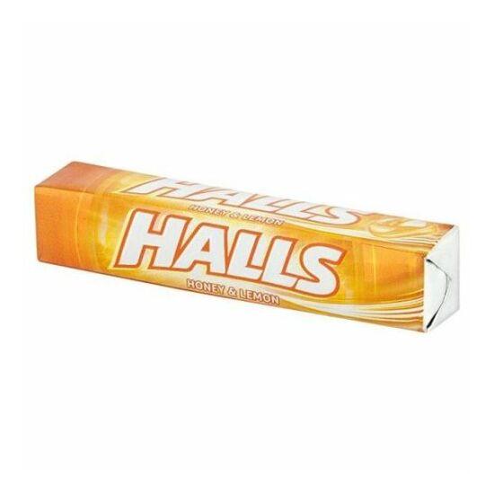 Halls Honey & Lemon Cukorka 33.5 g