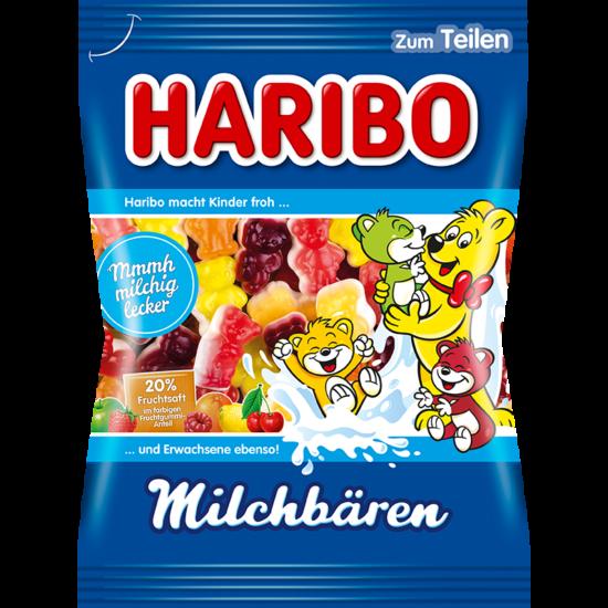 Haribo MILCHBÄREN Tejes Gyümölcsös Gumicukor 175 g