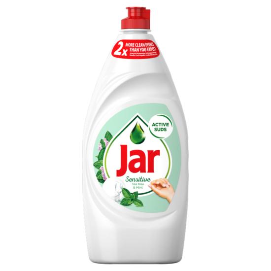 Jar Tea Tree & Mint Sensitive Mosogatószer 900 ml