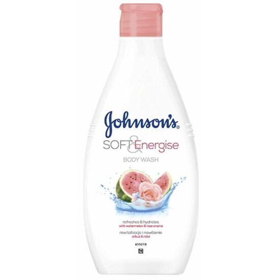 Johnson's Soft & Energise Dinnye & Rózsa Tusfürdő 400 ml