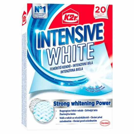K2r Intensive White Fehérítő Kendő 20 db