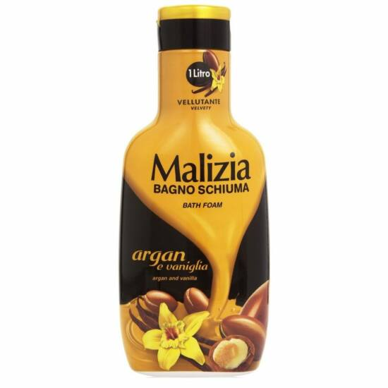 Malizia Habfürdő Argán olaj & Vanília 1000 ml