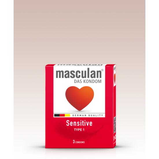 Masculan Sensitive Óvszer 3 db