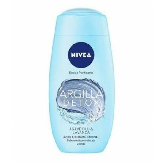 Nivea Argilla Detox Agave Blue & Lavender Tusfürdő 250 ml