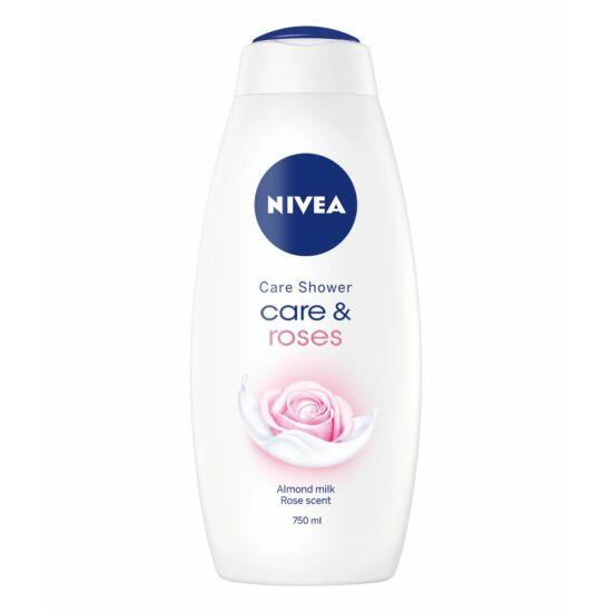 Nivea Care & Roses Krémtusfürdő 750 ml