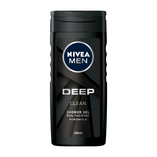 Nivea Men Deep Clean Tusfürdő 250 ml