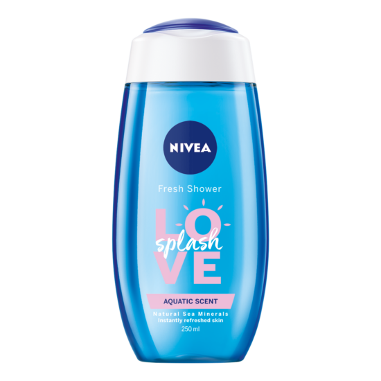 Nivea Love Splash Tengeri Ásványokkal Tusfürdő 250 ml