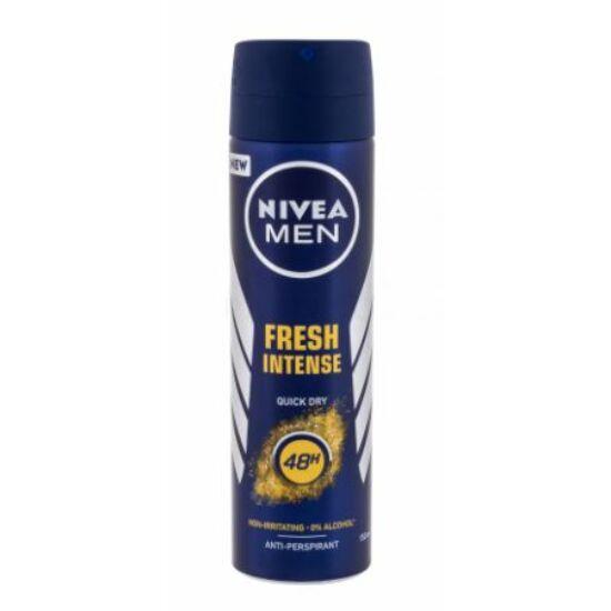 Nivea Men Fresh Intense (Non Irritating, 0% Alcohol) Spray 150 ml