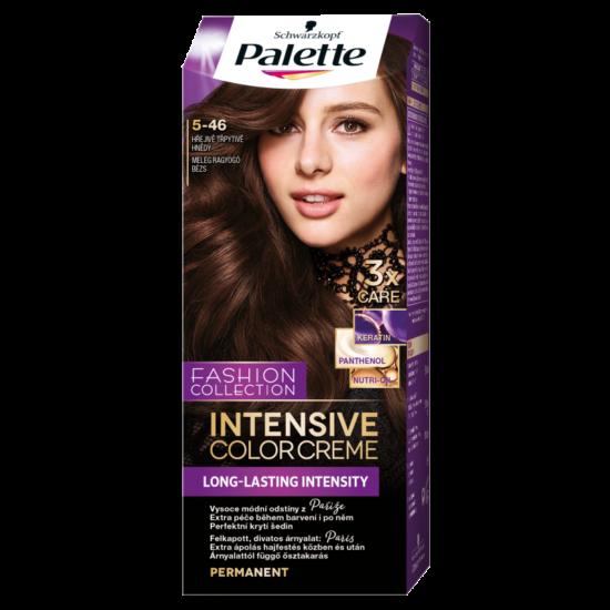 Schwarzkopf Palette Intesive Color Creme Hajfesték 5-46 Meleg Ragyogó Bézs