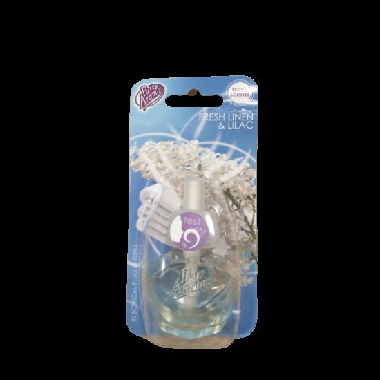 Pure Aroma Fresh Linen & Lilac Illatosító Utántöltő 19 ml