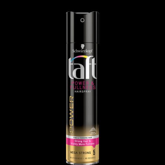 Taft Power & Fullness Hajlakk Mega Strong 250 ml