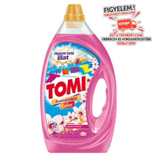 Tomi Aromaterápia Color Japánkert & Tavirózsa Folyékony Mosószer 3 l 60 mosás